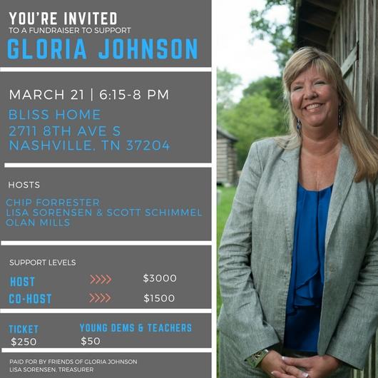 Gloria Johnson in Nashville