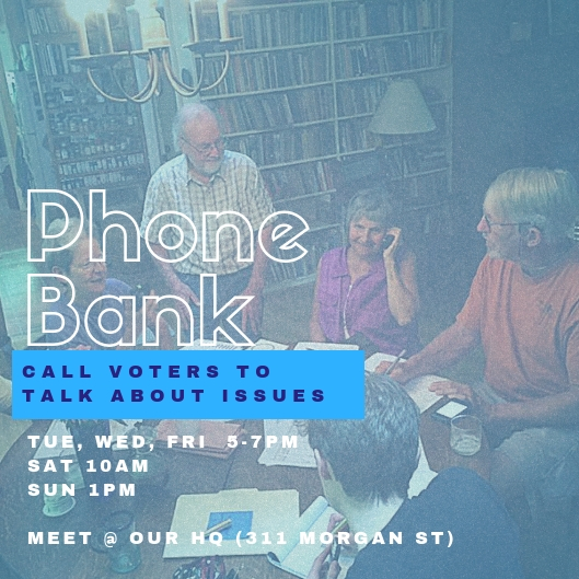 Phone Bank Graphic